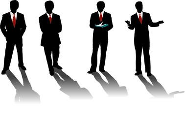 hommes d'affaires