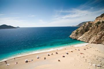 Deurstickers Turkije Kaputas beach in the Turkish Mediterranean