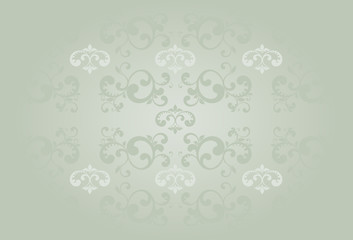 Beige old style background with light in the center