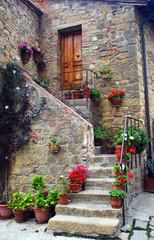 Foto auf Acrylglas Toskana Monticchiello, Tuscany