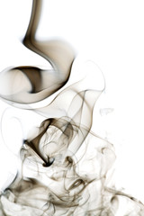 A flowing smoke background