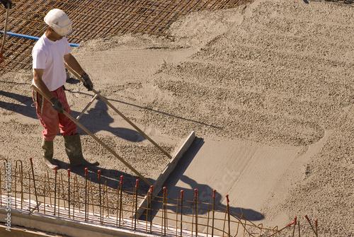chantier btp chape ciment photo libre de droits sur la banque d 39 images image. Black Bedroom Furniture Sets. Home Design Ideas