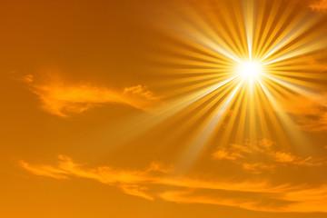 Sonnenstrahl  rayon soleil