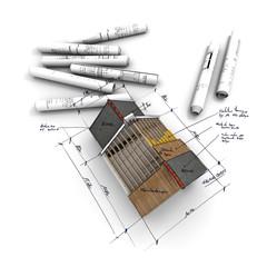 Maison concept A6 croquis