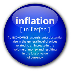 """inflation"" button with definition"