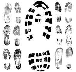Footprint traces collection 2