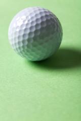 Golf Ball close up shot