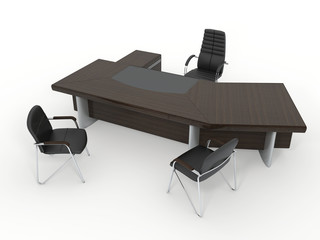The office director's furniture