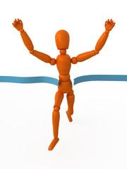 Orange mannequin is first.