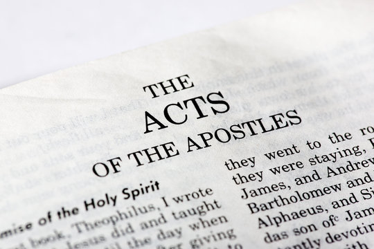 A macro detail of the book of Acts
