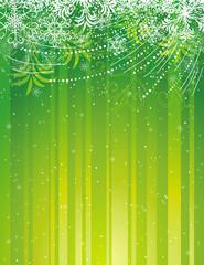 green grunge christmas background