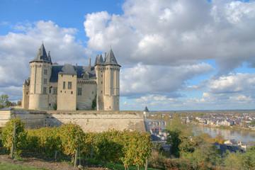 château de Saumur en HDR