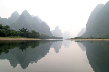 Keuken foto achterwand China Guilin Zucker Berge