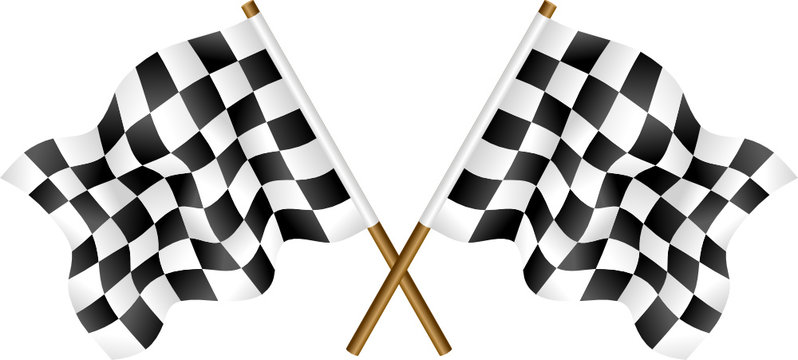 Chekered flags