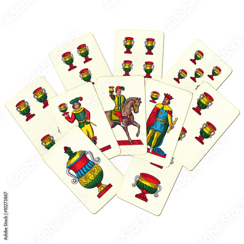 Gioco carte napoletane