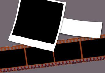 illustration pour incrustation de photos personnelles