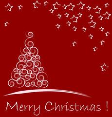 decoratiove christmas tree