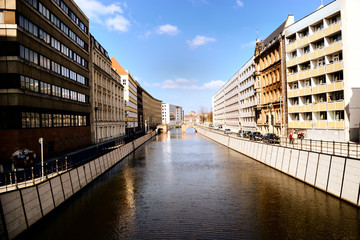 Spree river in Berlin