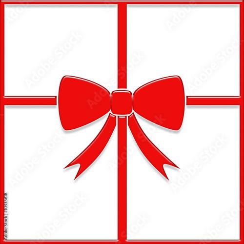 noeud paquet cadeau rouge photo libre de droits sur la banque d 39 images image. Black Bedroom Furniture Sets. Home Design Ideas