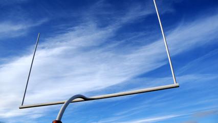 American Football- field goalpost