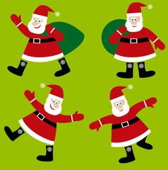 Santa Claus vector cartoon