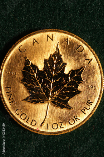One Ounce Gold Bullion Coin - Canada