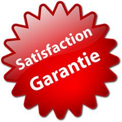 """Tampon """"Satisfaction Garantie"""""""