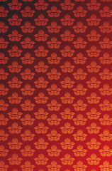 Red and gold glamour wallpaper