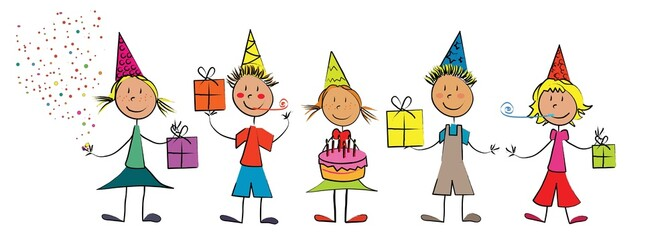 enfants fête d'anniversaire
