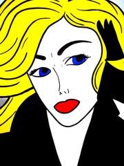 Popart Woman 2