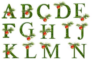 Christmas abc part 1