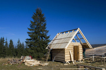 new hut