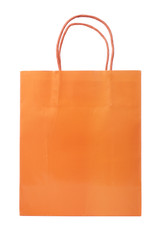 A shopping bag, isolated on white background