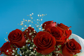 present for woman is the bouquet of roses