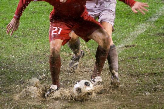 soccer or football match