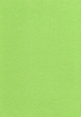 黄緑に白の水玉模様の生地