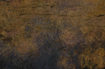 Cloe up of earthy painted texture