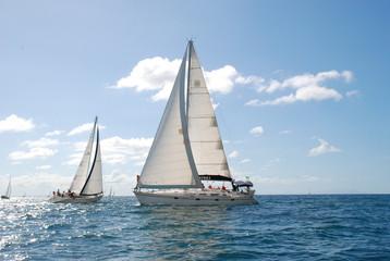 Spoed Foto op Canvas Zeilen bâteaux boat