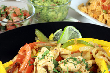 mexican fajitas made with delicious fresh ingredients