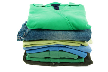 ..Different colors of t-shirts