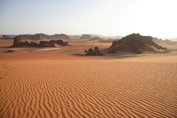Foto op Aluminium Algerije Wüstenlanschaft