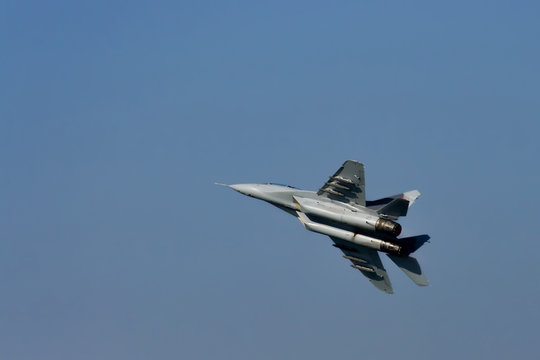 MIG in the air