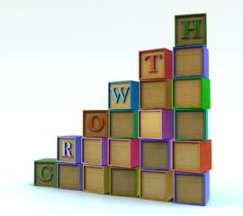 Children blocks - growth