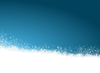 Festive Snowfall Background