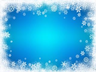 Sfondo neve blu