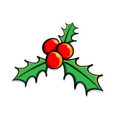 Vector Holly berries
