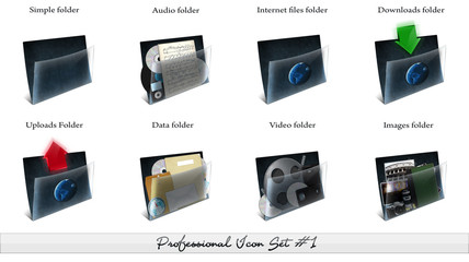 Professional Icon Set #1 - Folders