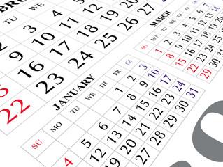 calendar 2009 page
