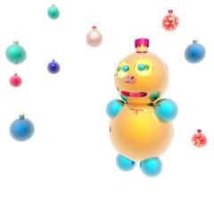 Gold snowball