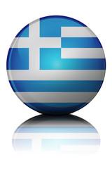 FlaggenKugel Griechenland 1.1